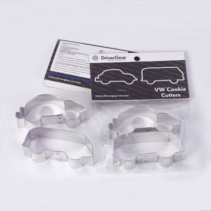Custom Cookie Cutter Set - Volkswagen Beetle and Bus