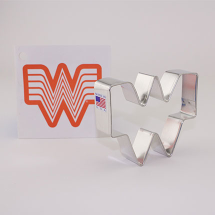 Custom-Whataburger Cookie Cutter