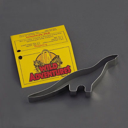 Custom Cookie Cutter - Wild Adventures Dinosaur
