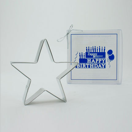 Custom Cookie Cutter - Zappos Star