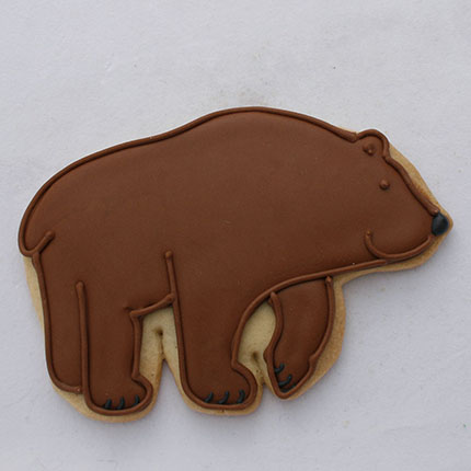 Mountain Bear Cookie Cutter - Traditional