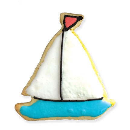 Sailboat Cookie Cutter - Traditional