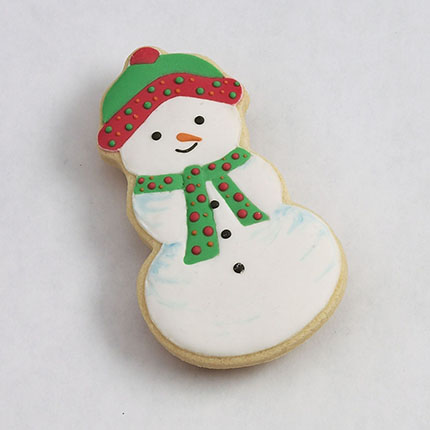 Snowman Cookie Cutter - Traditional