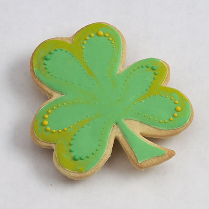 Shamrock Cookie Cutter - Traditional