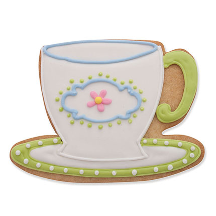 Teacup Cookie Cutter - Traditional