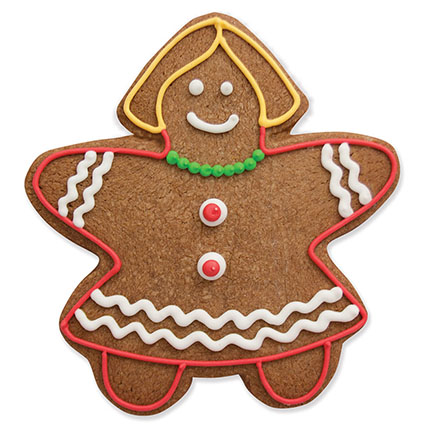 Gingerbread Girl Cookie Cutter - Traditional