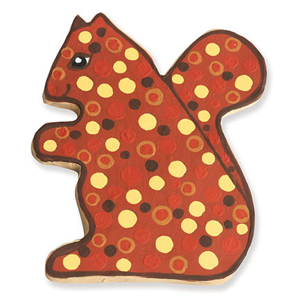 Squirrel Cookie Cutter - Traditional