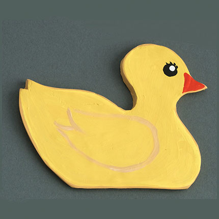 Rubber Ducky Cookie Cutter - Traditional