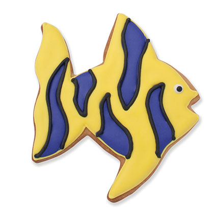 Tropical Fish Cookie Cutter - Traditional