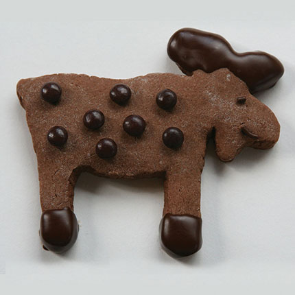 Chocolate Moose Cookie Cutter - MMC