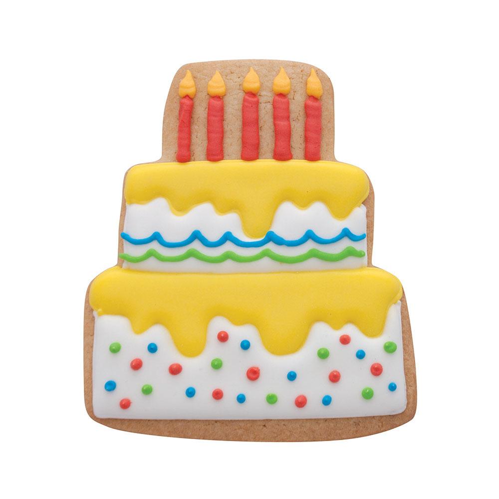 Pleasing Wedding Cake Cookie Cutter 3 75 Inch Ann Clark Funny Birthday Cards Online Hendilapandamsfinfo