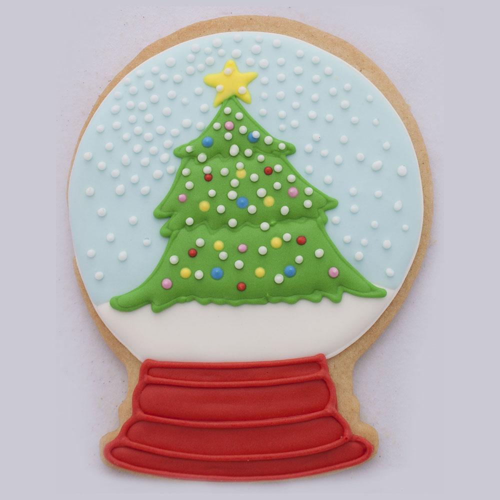 snowglobe cookie cutter ann clark