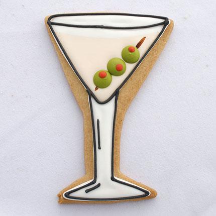 Martini Glass Cookie Cutter