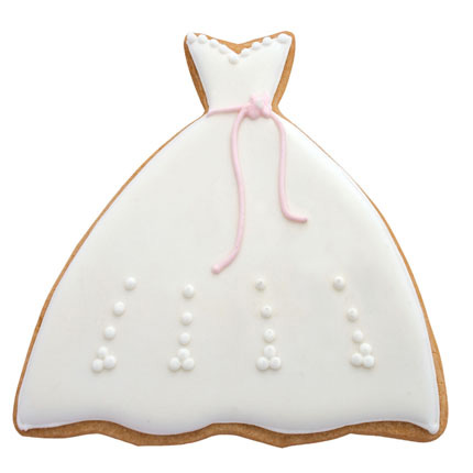Gown Cookie Cutter - MMC