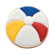 Beach Ball Cookie