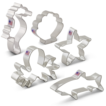 Under the Sea Cookie Cutters 5 pc Set
