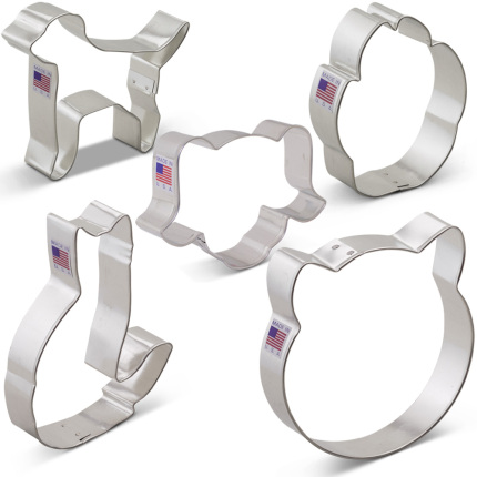 Pets Cookie Cutter 5 pc Set