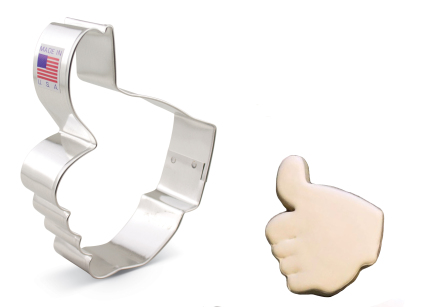 Thumbs Up Cookie Cutter