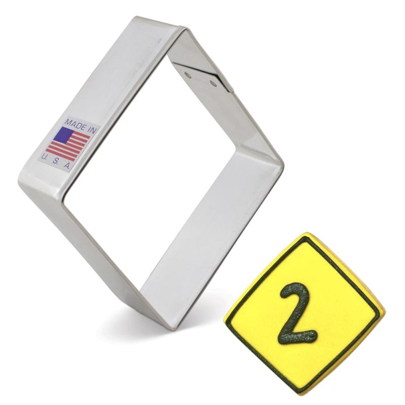 Convex Square Cookie Cutter