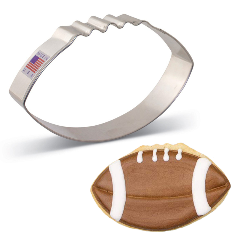 Large Football Cookie Cutter