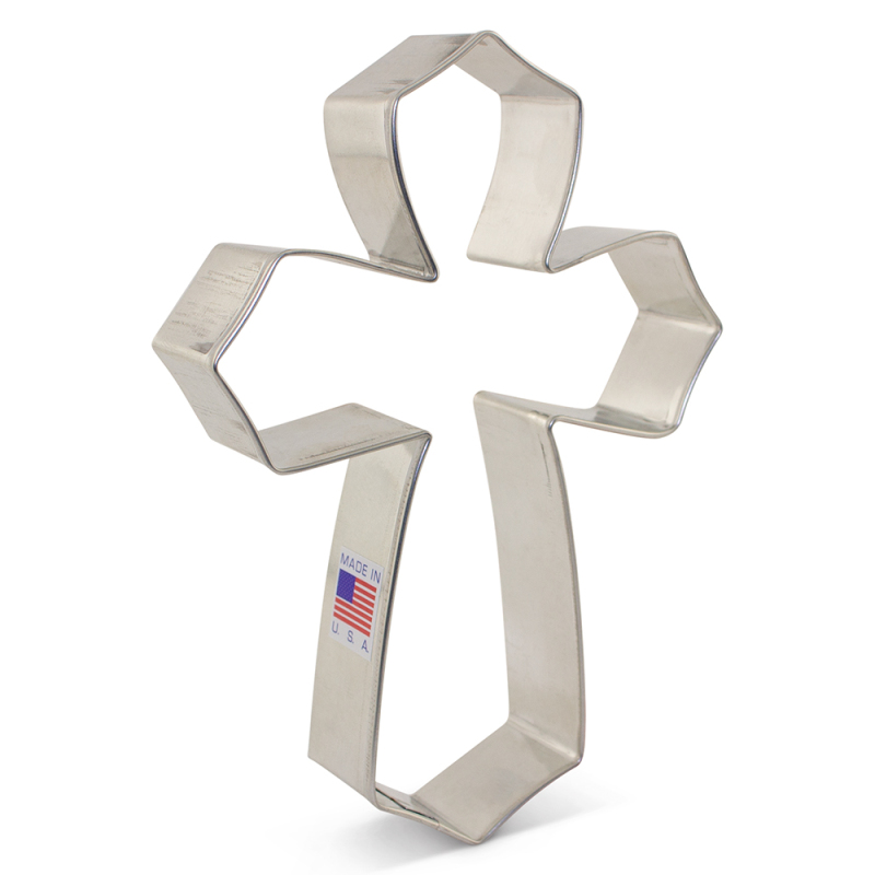 Tunde's Creations Extra Large Cross Cookie Cutter
