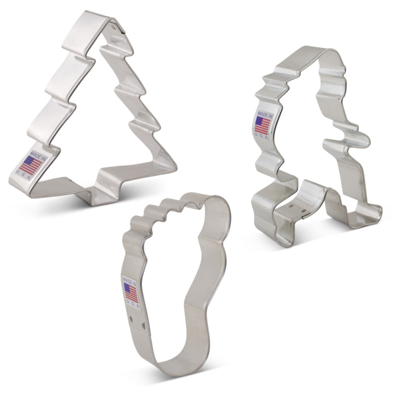 Bigfoot / Sasquatch Cookie Cutter 3 pc Set