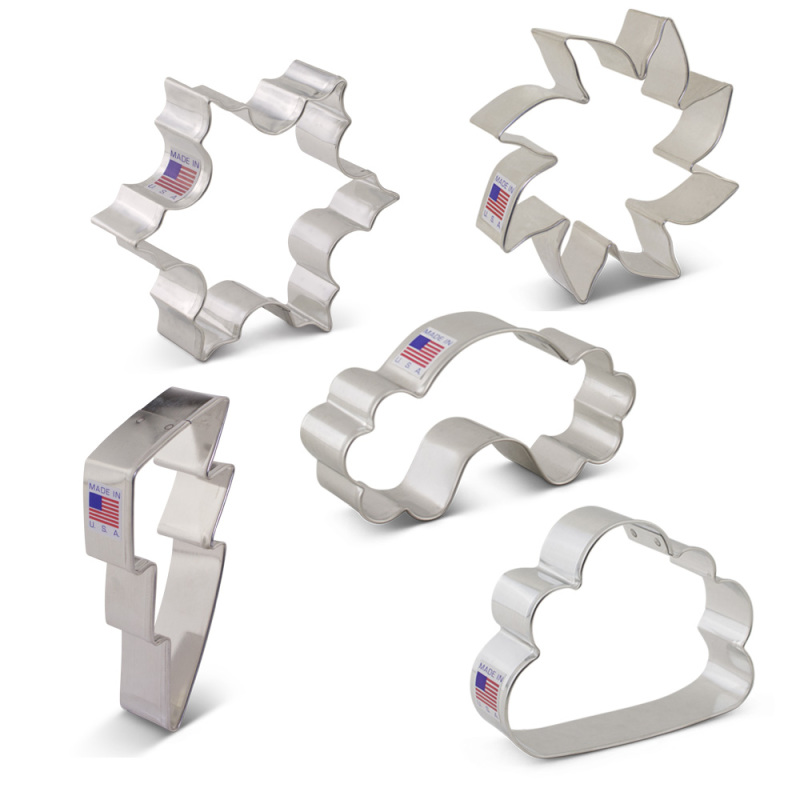 Weather Cookie Cutter 5 pc Set