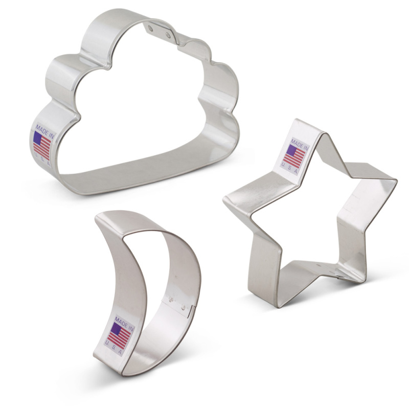 Twinkle Little Star Cookie Cutter 3 pc Set