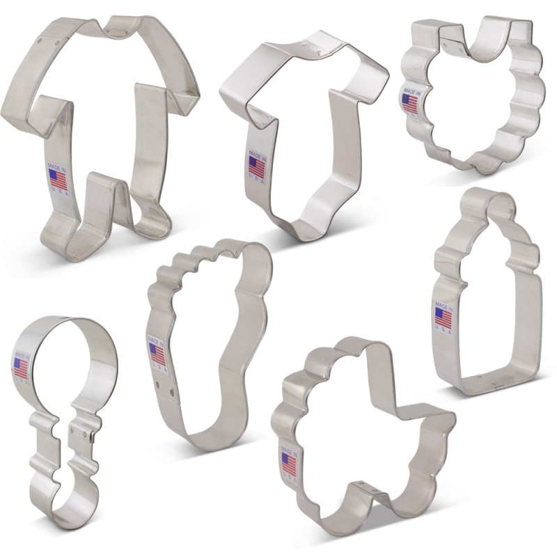 Baby Shower Cookie Cutter 7 pc Set