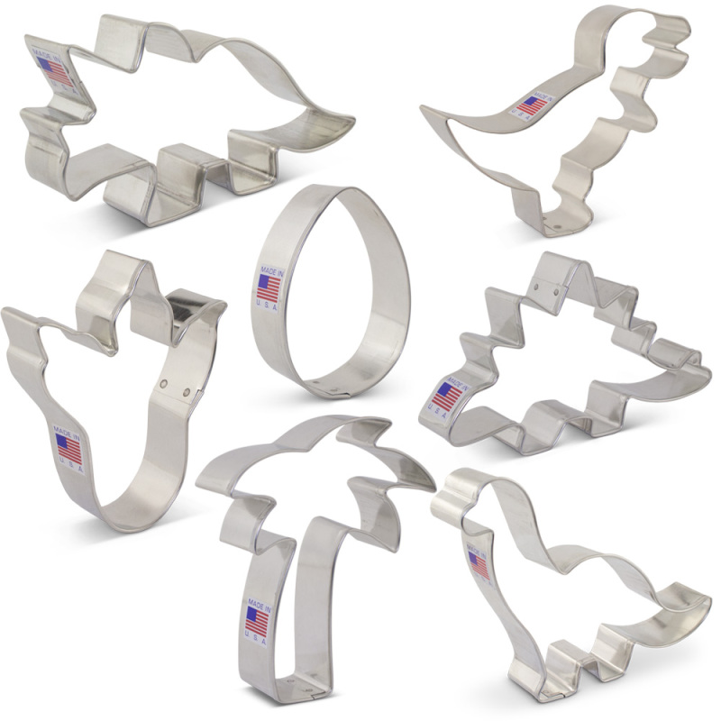 Dinosaur Cookie Cutter 7 pc Set