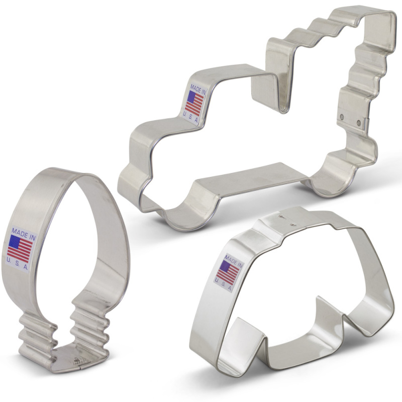 Christmas Trends Cookie Cutter 3 pc Set