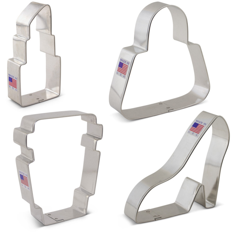 Grab it and Go Cookie Cutters 4 pc. Set