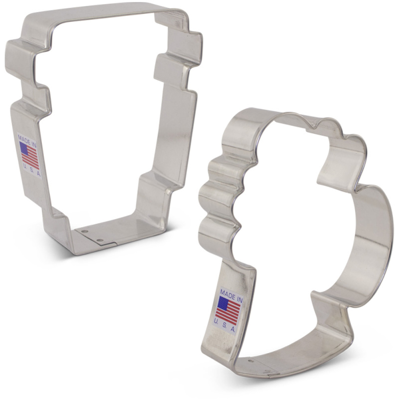 Drinks Cookie Cutter 2 pc Set