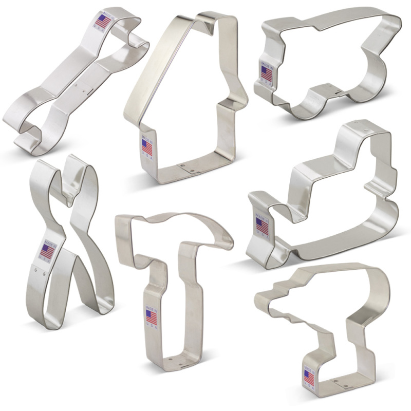 Construction Cookie Cutter 7 pc Set