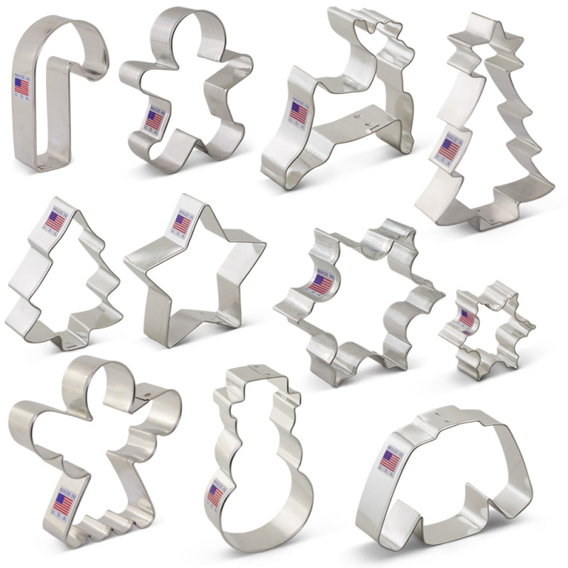 Winter / Christmas Cookie Cutter 11 pc Set