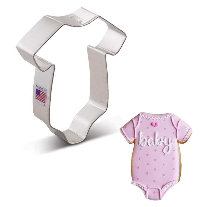 Baby Onesie Cookie Cutter