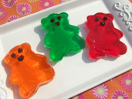 jiggly fruit gel shapes recipe