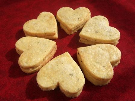 rosemary cornmeal cookies recipe