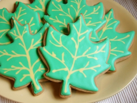 maple leaf cookies recipe