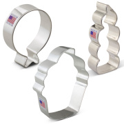 Birthday Cookie Cutter 3 pc Set