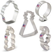 Birthday Cookie Cutter 5 pc Set