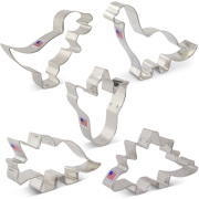 Dinosaur Cookie Cutter 5 pc Set