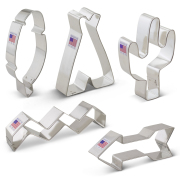 Tribal Cookie Cutter 5 pc Set