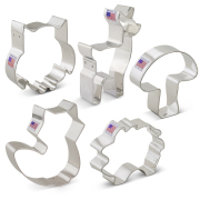 Woodland Cookie Cutter 5 Pc Set