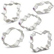 Plaque Cookie Cutter 5 pc set