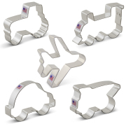 Transportation / Vehicles Cookie Cutter 5 pc Set