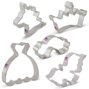 Fairytale Princess Cookie Cutter 5 Pc Set