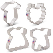 Baby Clothes Cookie Cutter 4 Pc Set