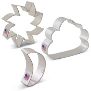Day and Night Sky Cookie Cutter 3 pc Set