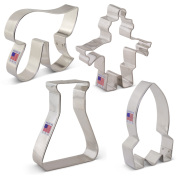 STEM Cookie Cutters 4 pc Set
